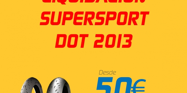 Liquidación Stock SuperSport Michelin